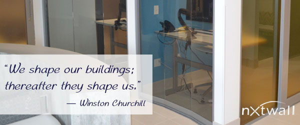 Minimizing Environmental Impact - We shape our buildings; thereafter they shape us. - Winston Churchill