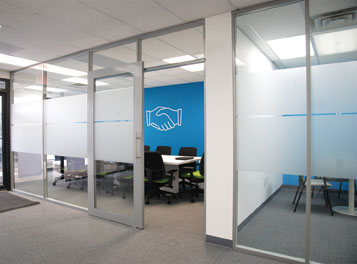 Non Unitized Architectural Walls Built For Changing Offices