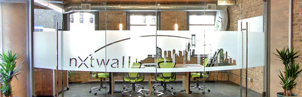 Discover Peace And Quiet In A Standalone Office - Frosted glass conference room table