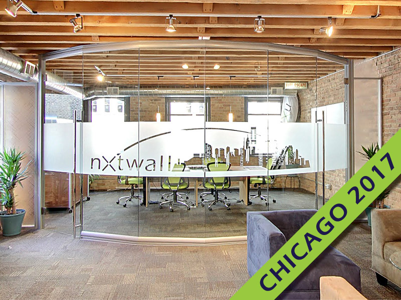 NxtWall in Chicago during NeoCon 2017