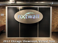 NxtWall Chicago Showroom 2017 Virtual Tour