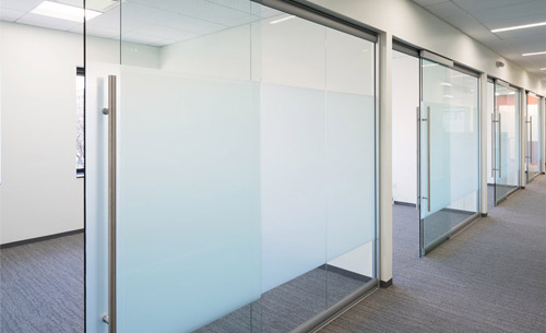 Office glass door designs Frameless Glass Nxtwall View Glass Office Wall System