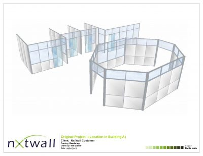 NxtWall Original Project Rendering - 2015