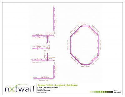NxtWall Original Project Plan Drawing - 2015