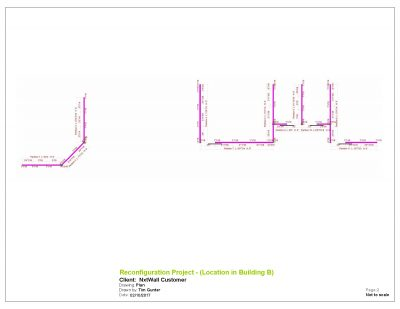 NxtWall Reconfiguration Project Plan Drawing - 2017