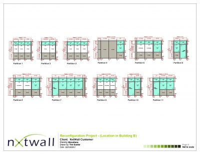 NxtWall Reconfiguration Project Elevations - 2017