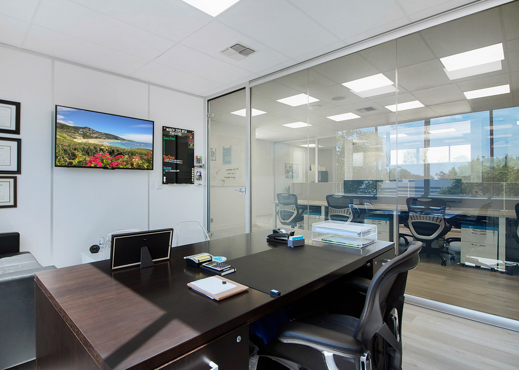 NxtWall Glass Office with Switchable Glass (Clear)