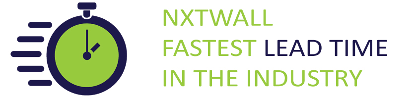NxtWall - Fastest Lead Time in the Demountable Wall Industry
