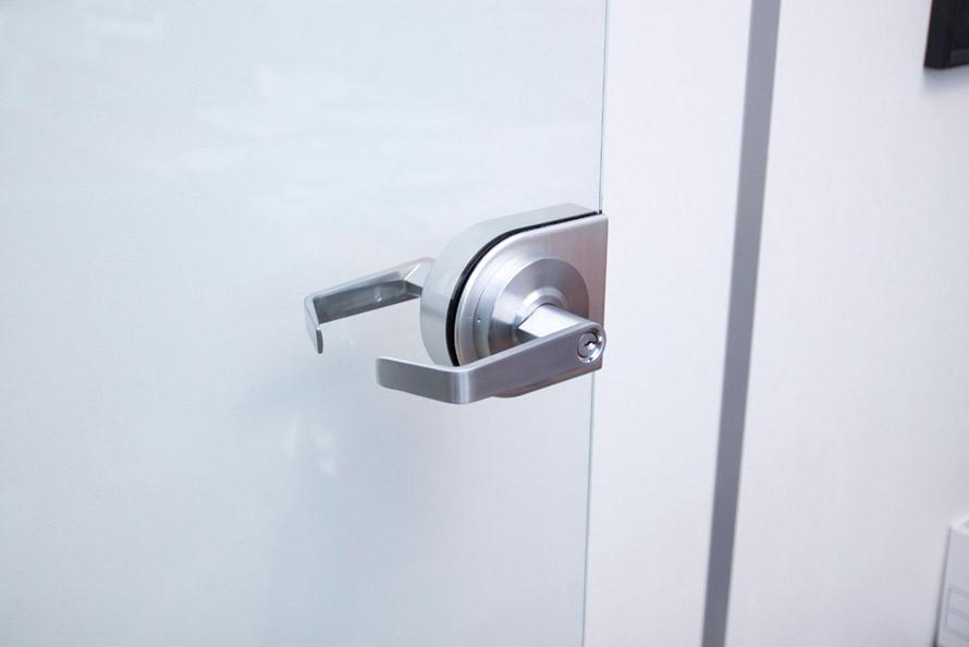 Door Hardware housing kit for glass doors