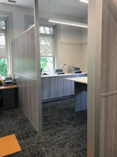 Demountable Non-Full Height Flex Series Dividing Wall