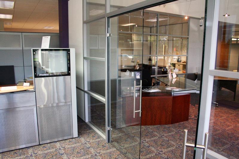 Double Frameless Swing Glass Doors - Flex Series