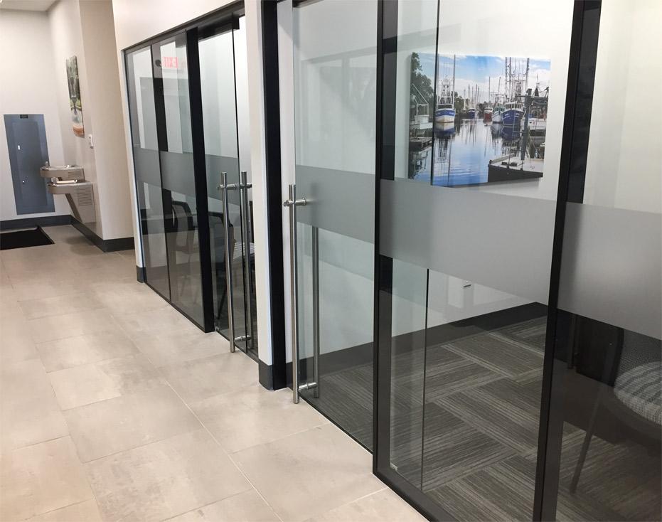 Flex Series Glass Walls Decorative Window Film