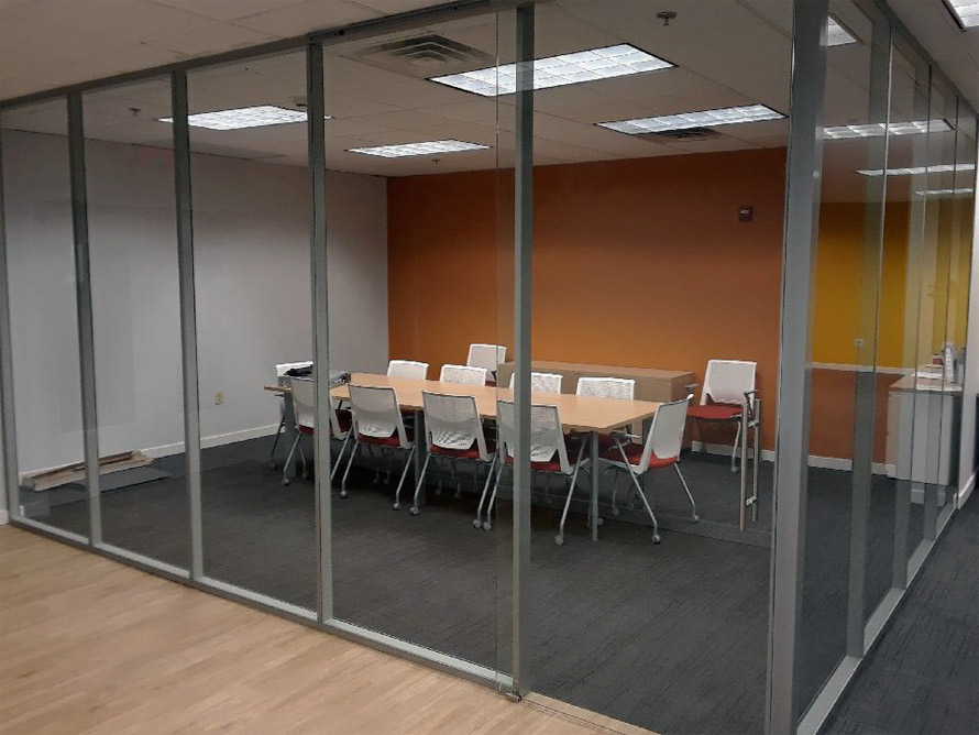 Flex Series full glass conference room