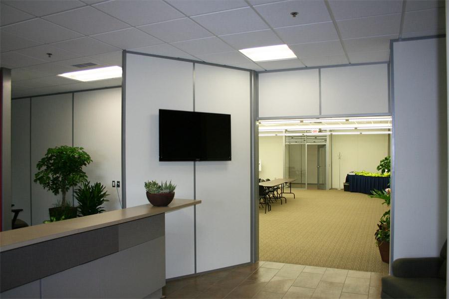 Flex series reception wall