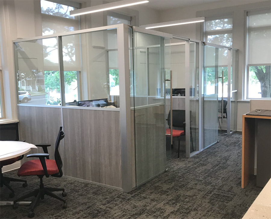Modular Offices Flex Series Demountable Walls