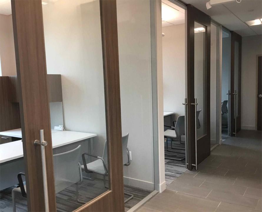 Wood frame sliding door - Flex Series