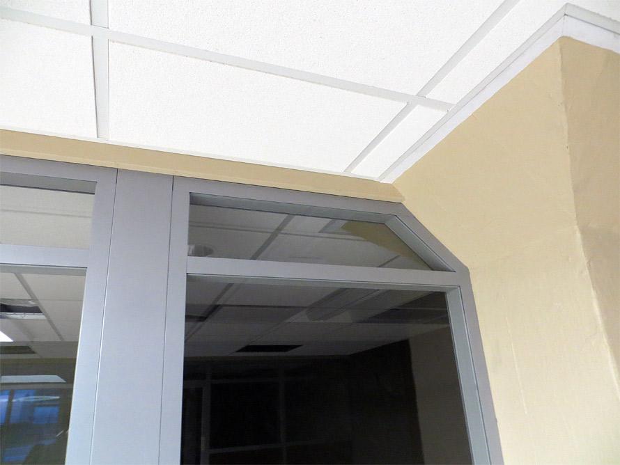 Column wrap integrated demountable walls - Flex Series