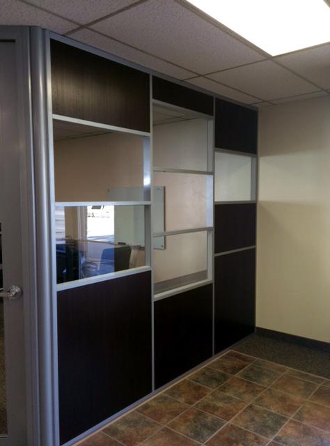 Corner office - Flex series wall system