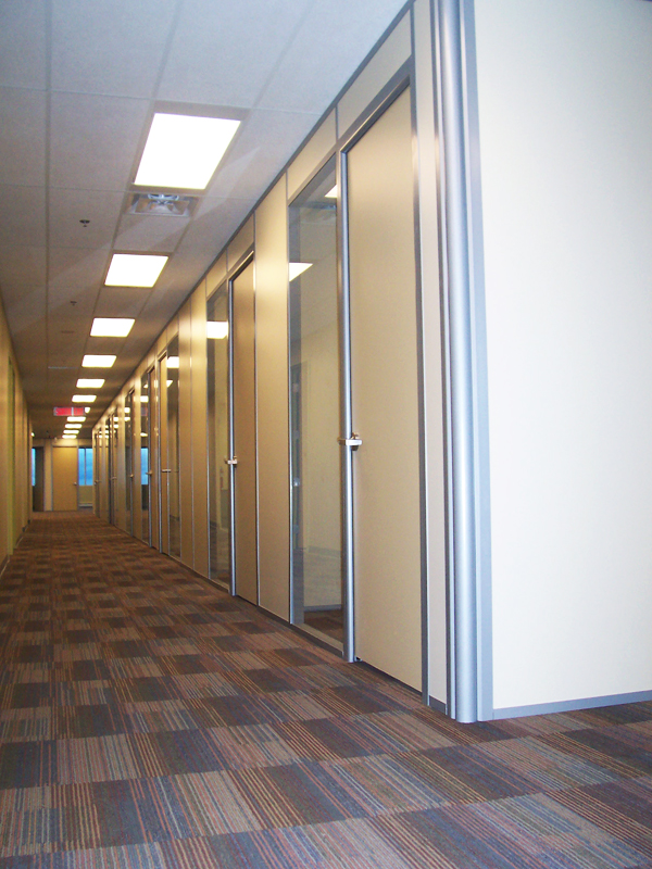 Flex Series with Solid Panels and Radiused Corner