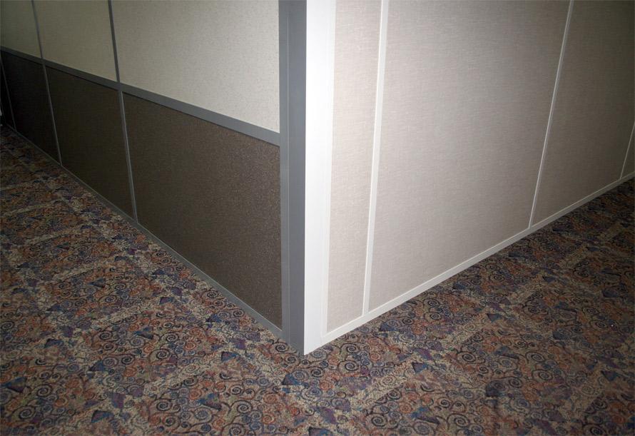 Flex series corner post custom painted two-tone color