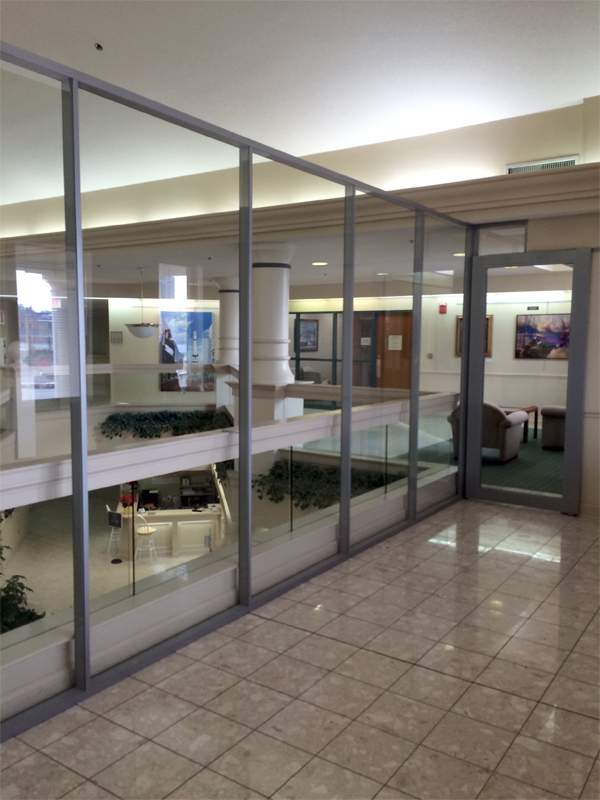 Glass walls Flex series