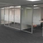Conference Room Glass Walls w/ Decorative Window Film