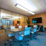 Conference room walls - Flex Series demountable wall system
