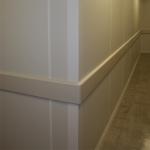 Custom Almond Colored Corner Post and Wall Trim