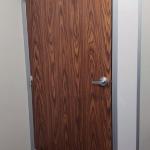 English Oak Laminate Door Flex Series Demountable Wall