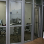 Flex Series Glass Front Walls for Higher Education - MSU