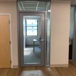 Flex series office front installation column integration