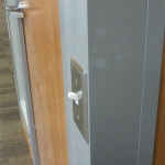 Flex Series wall system with Electrical switch
