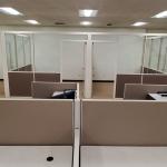 Freestanding Flex Series Demountable Partition Offices