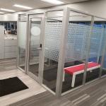 Freestanding Glass Vestible - Flex Series Demountable Walls