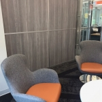 Freestanding Wall with Laminate Panels NxtWall - Flex Series