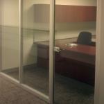 Full Height Glass Door with Anodized Aluminum Door Frame
