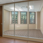 Full height wood swing door - Flex Series