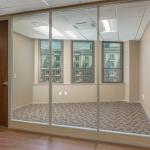 Full height wood swing door - Flex Series