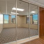 Full height solid core wood doors
