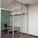 Glass Private Corner Office - Flex Series