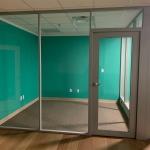 Glass demountable wall offices Flex Series