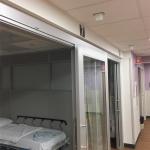 Healthcare patient rooms - NxtWall Flex Series
