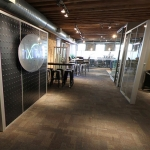 Industrial Feature Wall - NxtWall Chicago Showroom