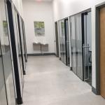 Locking Ladderpull Glass Door Hardware