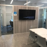 Non-Floor-to-Ceiling Flex Series Demountable Wall Meeting Room