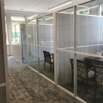 Non-Full Height Demountable Office Walls - Flex Series