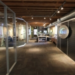 NxtWall Chicago Showroom Freestanding Demountable Wall Systems Installation