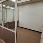 Warm White Frame Demountable Wall Offices