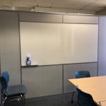 Whiteboard integration wall - NxtWall Flex Series demountable walls