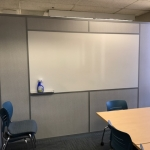 Whiteboard integration wall - NxtWall Flex Series demountable walls